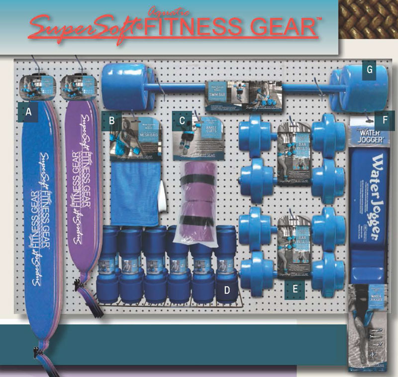 Valley pools spas - Exercise equipment for swimming pools ...